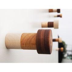 Scrap Wood Hooks #recycled #coathanger
