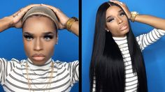 How-To: Glue Down a Lace Wig with Gluded Hair Color Pink, Blonde Color, Purple Hair, Black Girls Hairstyles, Trendy Hairstyles, Wig Styles, Short Hair Styles, Lace Front Wigs, Lace Wigs
