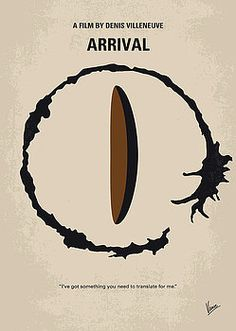 Chungkong Art - No735 My Arrival minimal movie poster