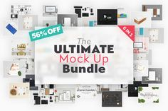 The Ultimate Mock Up Bundle by Qeaql on @creativemarket