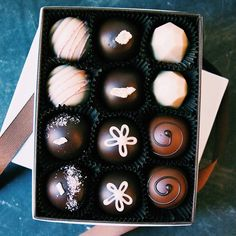 Chocolate Truffles Gift Pack French-Broad-Promo-2