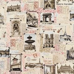 Tres Jolie Paris Landmark Patchwork - Blush 2