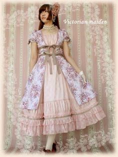 Victorian Maiden | Classical Bouquet Over OP