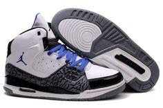 3c437f3eb Jordan Flight SC 1 White Blue Cement