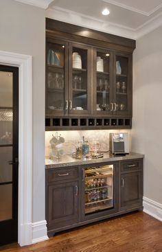 beverage center modern urban farmhouse