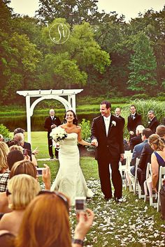 LOVE THESE CANDIDS ! bride and groom ; Altar Wedding, Fall Wedding, Dream Wedding, Philadelphia Wedding, Lake View, Beautiful Gardens, Photo Credit, Candid, Waterfall