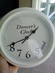 Dancer's Clock.