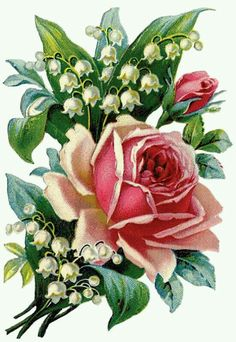Incluir imagen: When we approached the Flores & Prats company, we wanted to concentrate on Decoupage Vintage, Vintage Diy, Vintage Cards, Vintage Images, Victorian Flowers, Vintage Flowers, Vintage Floral, Vintage Rosen, Rose Pictures