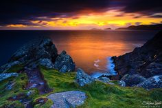 Sunset at Slea Head by Stefano Viola, via Flickr ~ Ireland