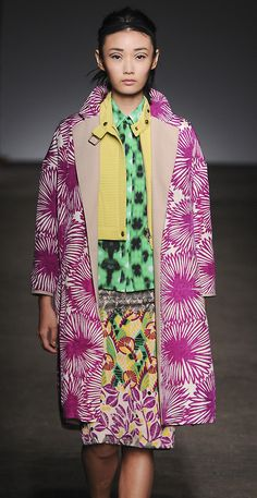 A consummately clashing print feast for the eyes spotted at @Tracy_Reese yesterday at #NYFW #MBFW