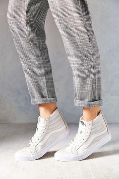 Vans Crackle Suede Sk8-Hi Women's High-Top Sneaker