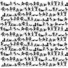 Warli art is one the oldest art forms seen in India. My obsession with this art form is the inspiration behind its creation. Worli Painting, India Painting, Fabric Painting, Wall Paintings, Om Namah Shivaya, Traditional Paintings, Traditional Art, Indian Wall Art, Pottery Painting Designs