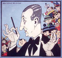italian illustrator Antonio Rubino