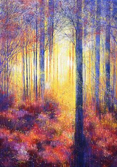 ARTFINDER: An Autumn Morning by Marc Todd -