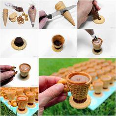 Edible galletas taza de té de recetas | Ideas creativas