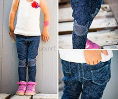Treggings - for kids - sewing - diy - german