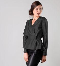 V blouse AHIMSA SILK