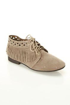 Boho Fringe Loafers / bootsi tootsi $15