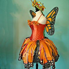 SPRING SALE Monarch Butterfly Faerie Costume by FairyNanaLand
