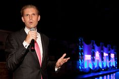 Eric Trump, one of Donald Trump's three eldest children and EVP of development and acquisitions for the Trump Organization, talks oversees travel, preparing for the election, and what's in store for the Trump Organization. Donald Trump Son, Eric Trump, The Trump Organization, Family Business, Presidents, Interview, Father, Pictures, Store