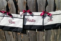 Personalized Bridesmaid Gift  Personalized by elrileyembroidery