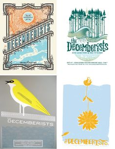 The Decemberists Posters