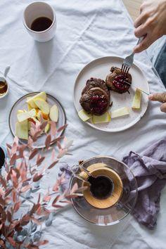 Vegan carob pancakes