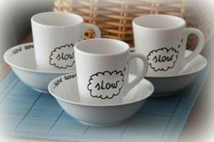 Slow down breakfast set