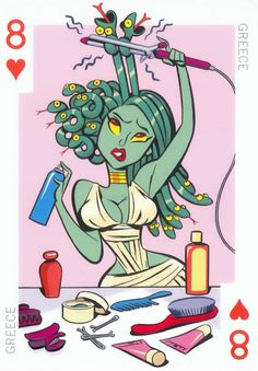 Poker Girl Design