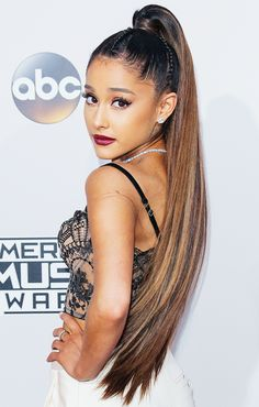 Singer Ariana Grande is a famous Latina.
