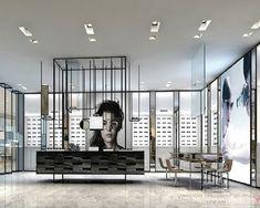 High End Eyeglasses Display Rack Optic Shop, Eyewear Shop, Glasses Shop, Rack, Inside Outside, Premier Designs, Store Design, Building Design, Eyeglasses