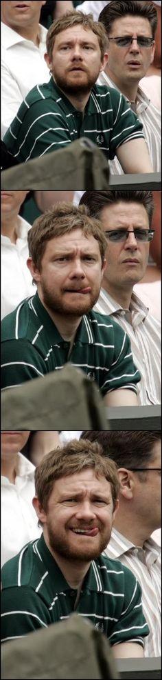 Martin watches the Wimbledon women's finals (circa 2005) // Why did John steal Ed Sheeran's beard?