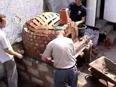 Cómo hacer la construcción de horno de barro - YouTube