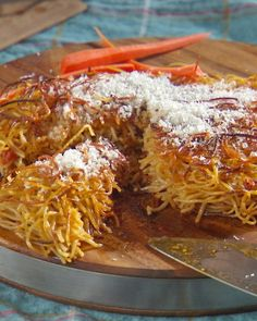 Fried Pasta Snack - Martha Stewart Recipes