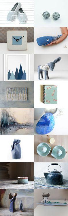 blue winter by RITA SCARPELLI on Etsy--Pinned with TreasuryPin.com