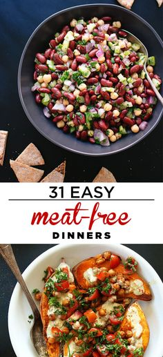 31 Easy Dinners With No Meat To Make In 2015