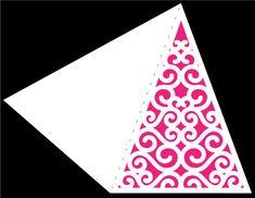 Swirly Christmas Tree 2 Card by Bird
