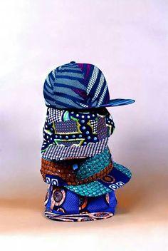 Labo Ethnik, Babatunde Styles Summer Snapbacks w/ African Print