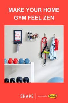 Workout Room Home, Workout Rooms, At Home Workouts, Mini Gym, Core Work, Garage Gym, Gym Design, At Home Gym, Tiny Living