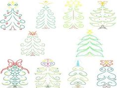 Christmas Tree design is now updated and available! See all the details at www.snugglebugartdesign.com