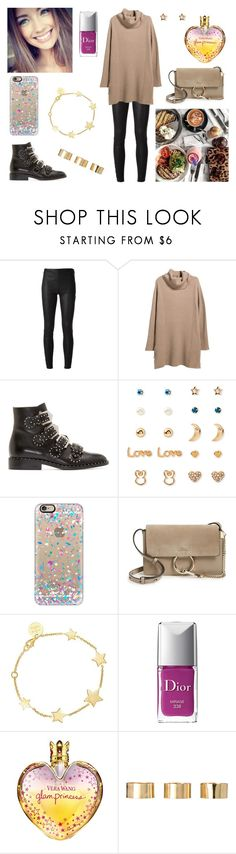"""08/02/17"" by milena-serranista ❤ liked on Polyvore featuring Yves Saint Laurent, Violeta by Mango, Givenchy, Forever 21, Casetify, Chloé, SOPHIE by SOPHIE, Christian Dior, Vera Wang and ASOS"