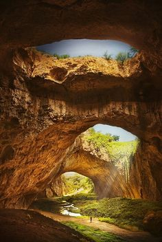 DEVETASHKA洞窟/ブルガリア