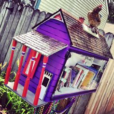 7 Coolest Little Free Libraries Check out these neat designs, and get ready to build a little free library in YOUR neighborhood!