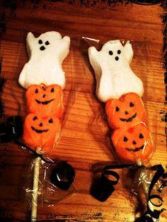 Sweet D's Cakery: Halloween Marshmallow Pops