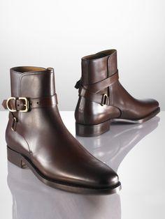 Macon Calf Boot - Ralph Lauren Boots