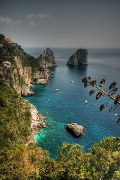 Capri Island Italy...will never forget this place and blue grotto