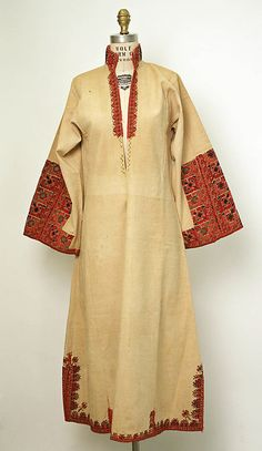 Dress Date: late 19th century Culture: European, Eastern Medium: cotton