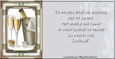 La mulți ani și multă sănătate Lucian! - Felicitari de zi de nastere pentru Lucian - mesajeurarifelicitari.com