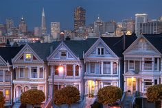 San Francisco (some of the same houses featured on Full House!)