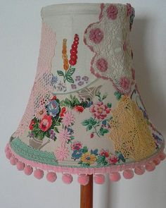 Vintage patchwork lampshade                                                                                                                                                                                 More